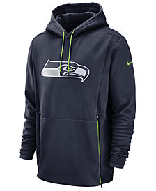 Nike Men's Seattle Seahawks Sideline Player Therma Hoodie