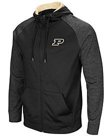 Colosseum Men's Purdue Boilermakers Magic Rays Full-Zip Hooded Sweatshirt