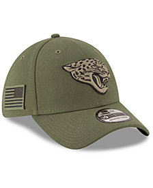 New Era Jacksonville Jaguars Salute To Service 39THIRTY Cap