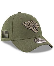New Era Jacksonville Jaguars Salute To Service 39THIRTY Cap