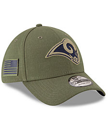 New Era Los Angeles Rams Salute To Service 39THIRTY Cap