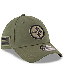 New Era Pittsburgh Steelers Salute To Service 39THIRTY Cap