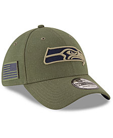 New Era Seattle Seahawks Salute To Service 39THIRTY Cap