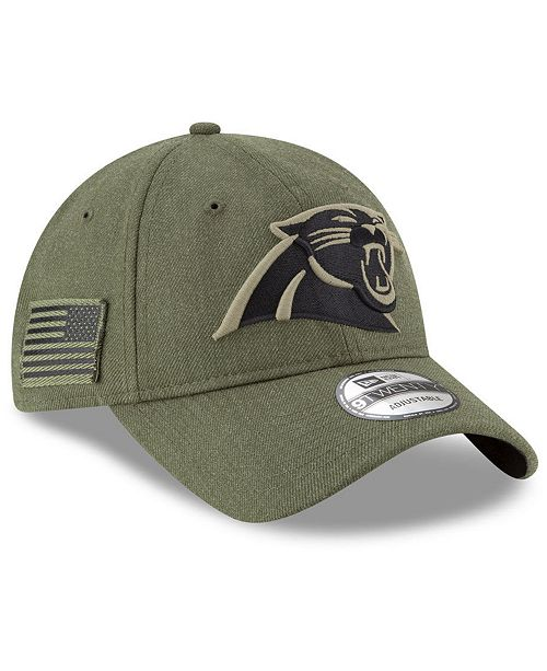New Era. Carolina Panthers Salute To Service 9TWENTY Cap. Be the first to  Write a Review. main image ... dba542f50