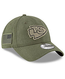 New Era Kansas City Chiefs Salute To Service 9TWENTY Cap