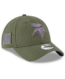 New Era Minnesota Vikings Salute To Service 9TWENTY Cap