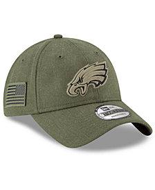 New Era Philadelphia Eagles Salute To Service 9TWENTY Cap