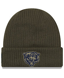 New Era Chicago Bears Salute To Service Cuff Knit Hat