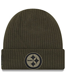 New Era Pittsburgh Steelers Salute To Service Cuff Knit Hat
