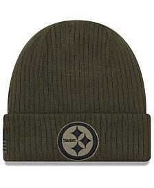 New Era Pittsburgh Steelers Salute To Service Cuff Knit Hat