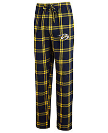 Concepts Sport Men's Nashville Predators Homestretch Flannel Pajama Pants
