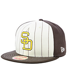 New Era San Diego Padres Vintage Front 59FIFTY FITTED Cap