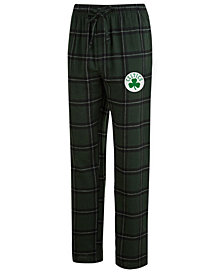 Concepts Sport Boston Celtics NBA Men's Homestretch Flannel Sleep Pants
