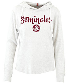 Pressbox Women's Florida State Seminoles Cuddle Knit Hooded Sweatshirt