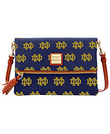 Dooney & Bourke Notre Dame Fighting Irish Foldover Crossbody Purse