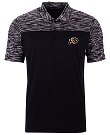 Antigua Men's Colorado Buffaloes Final Play Polo