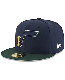 Utah Jazz Basic 2 Tone 59FIFTY Fitted Cap