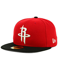 New Era Houston Rockets Basic 2 Tone 59FIFTY Fitted Cap