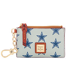 Dooney & Bourke Dallas Cowboys Zip Top Card Case