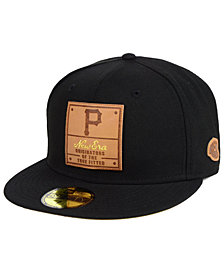 New Era Pittsburgh Pirates Vintage Team Color 59FIFTY FITTED Cap 44f83fa81f00