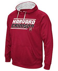 Colosseum Men's Harvard Crimson Stack Performance Hoodie