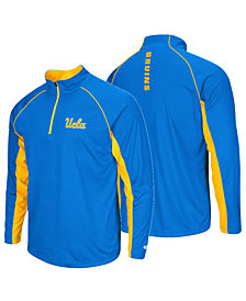 Colosseum Men's UCLA Bruins Rival Quarter-Zip Pullover
