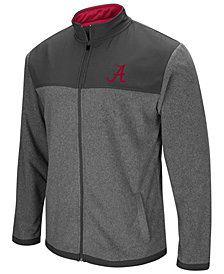 Colosseum Men's Alabama Crimson Tide Full-Zip Fleece Jacket