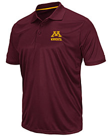 Colosseum Men's Minnesota Golden Gophers Short Sleeve Polo