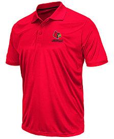 Colosseum Men's Louisville Cardinals Short Sleeve Polo