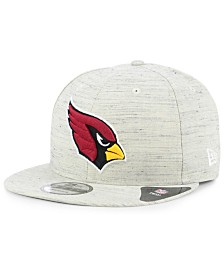 New Era Arizona Cardinals Luxe Gray 9FIFTY Snapback Cap