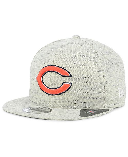 huge selection of 73f04 c0694 ... New Era Chicago Bears Luxe Gray 9FIFTY Snapback Cap ...