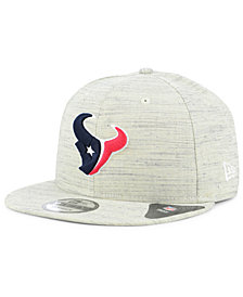 New Era Houston Texans Luxe Gray 9FIFTY Snapback Cap