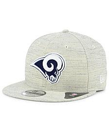 New Era Los Angeles Rams Luxe Gray 9FIFTY Snapback Cap