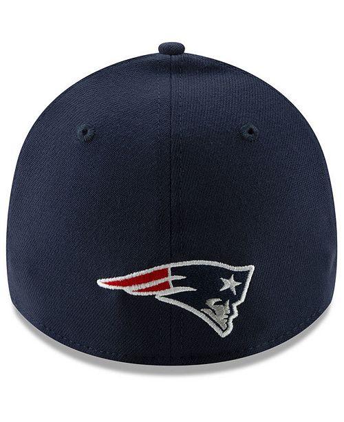 749fdb988621f0 New Era New England Patriots Logo Elements Collection 39THIRTY Cap ...