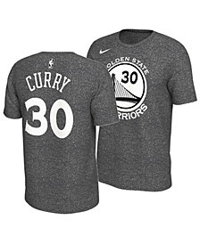 Nike Men's Stephen Curry Golden State Warriors Marled Player T-Shirt