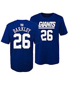 Outerstuff Saquon Barkley New York Giants Mainliner Player T-Shirt, Little Boys (4-7)