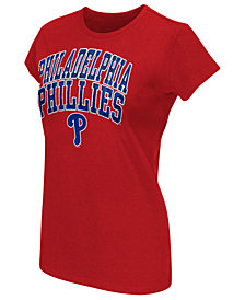G-III Sports Women's Philadelphia Phillies Endzone T-Shirt