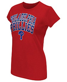G-III Sports Women's Philadelphia Phillies Endzone T-Shirt