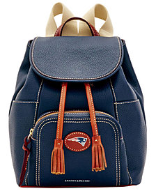 Dooney & Bourke New England Patriots Pebble Murphy Backpack