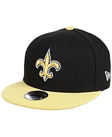 Boys' New Orleans Saints Two Tone 9FIFTY Snapback Cap