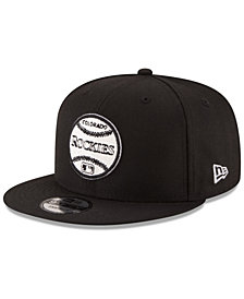 New Era Colorado Rockies Vintage Circle 9FIFTY Snapback Cap