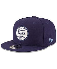 New Era Tampa Bay Rays Vintage Circle 9FIFTY Snapback Cap