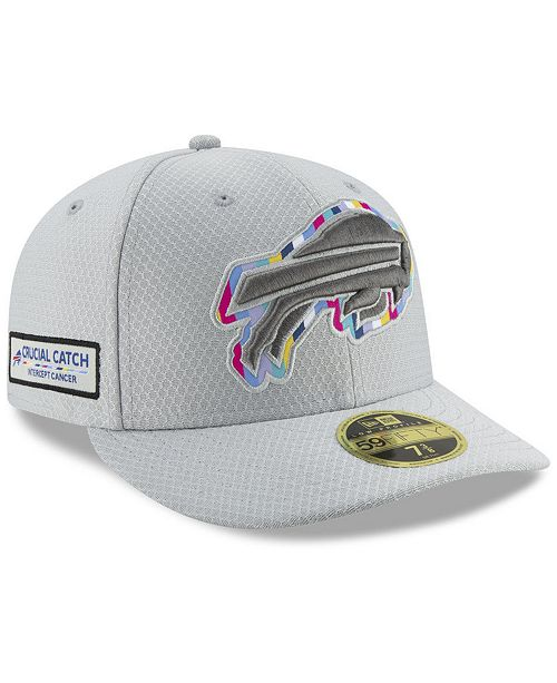 save off 2a7de 9ca64 ... New Era Buffalo Bills Crucial Catch Low Profile 59FIFTY Fitted Cap ...