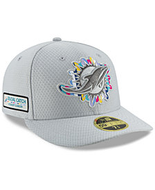 New Era Miami Dolphins Crucial Catch Low Profile 59FIFTY Fitted Cap