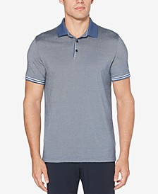 Men's Classic Fit Striped Polo