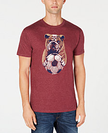 Club Room Men's Soccer Bulldog Graphic T-Shirt, Created for Macy's