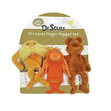 Manhattan Toy Dr. Seuss The Lorax Finger Puppet Set
