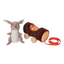 Manhattan Toy Camp Acorn Bunny Pull Toy