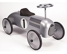 Speedster Ride On Silver Race Car