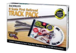 Bachmann Trains Worlds Greatest Hobby Track Pack N Scale